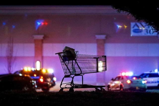 Drei Tote bei Schießerei in Supermarkt in den USA