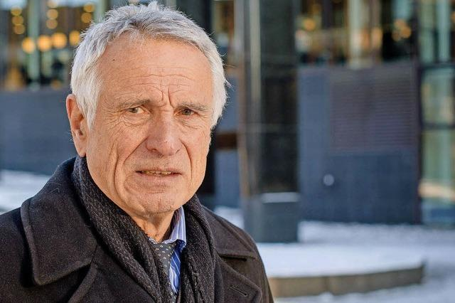 Historiker Heinz Schilling in der Universität