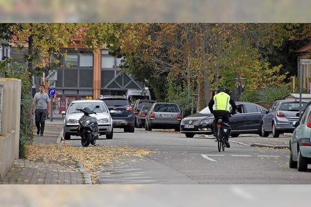 In Friedlingen fühlen Radler und Fußgänger sich an den Rand gedrängt