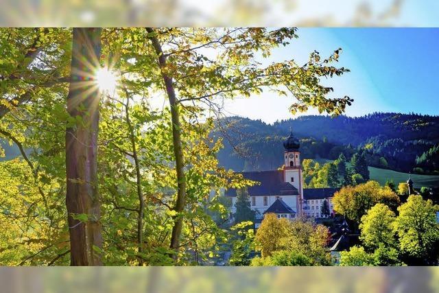 Herbstsonne über dem Tal