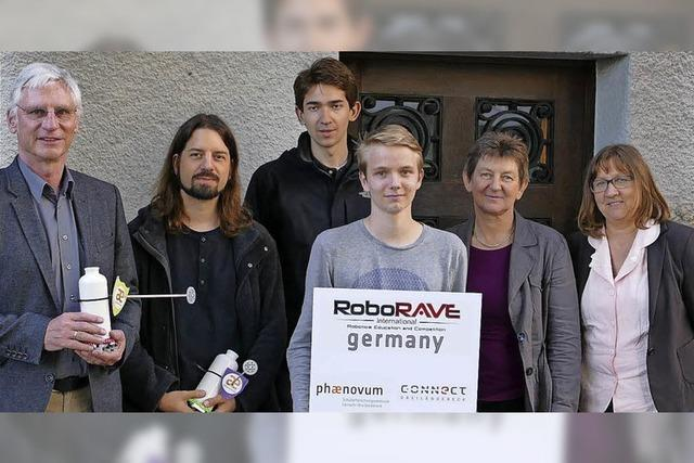 Wettbewerb mit Robotern