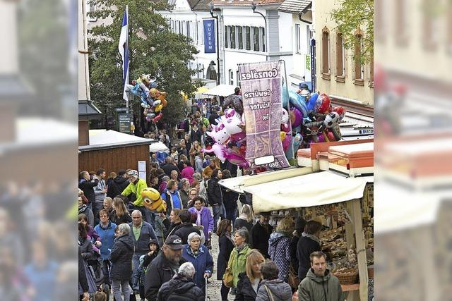 Jahrmarkt in Müllheim