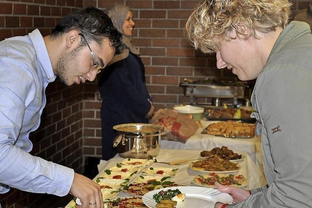 Neuenburger Flüchtlinge organisieren ein Fest für die Helfer