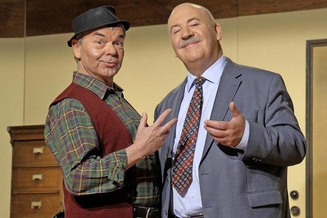 Schäbischer Humor mit Hannes und der Bürgermeister
