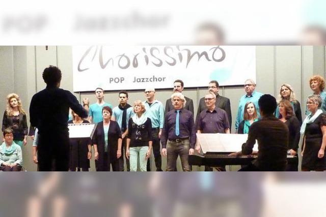 Chorissimo gibt Debüt mit neuem Dirigent