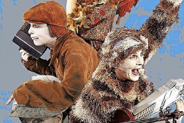Märchen Clownerie von Beatrice Hutter in der Stoll Vita-Stiftung