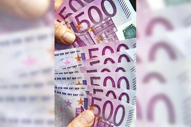 12 000 Euro werden verschenkt
