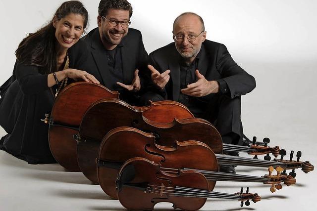 Le tre C mit Konzertprogramm Canti