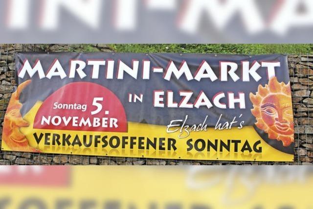 Sankt Martin reitet voran