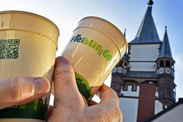 Freiburg-Cups sind noch nicht der große Coup