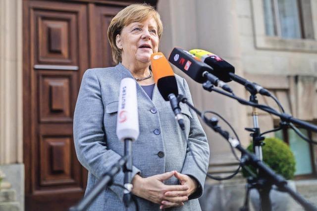 Merkel sieht Chancen für Jamaika