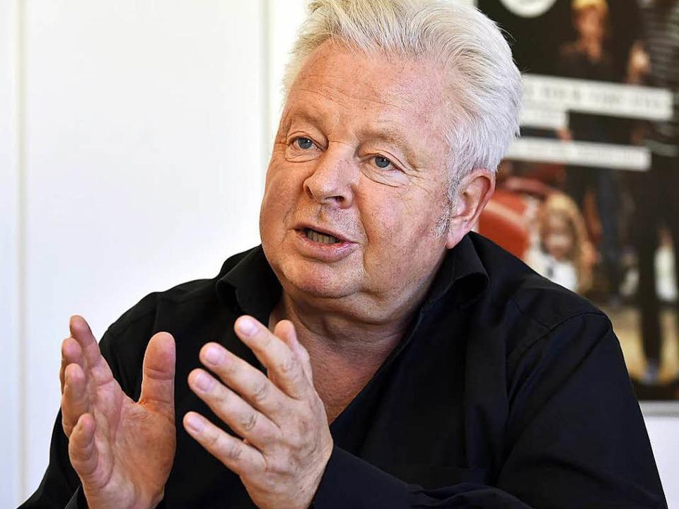 Peter Carp ist seit dieser Spielzeit Intendant am Theater Freiburg.  | Foto: Thomas Kunz