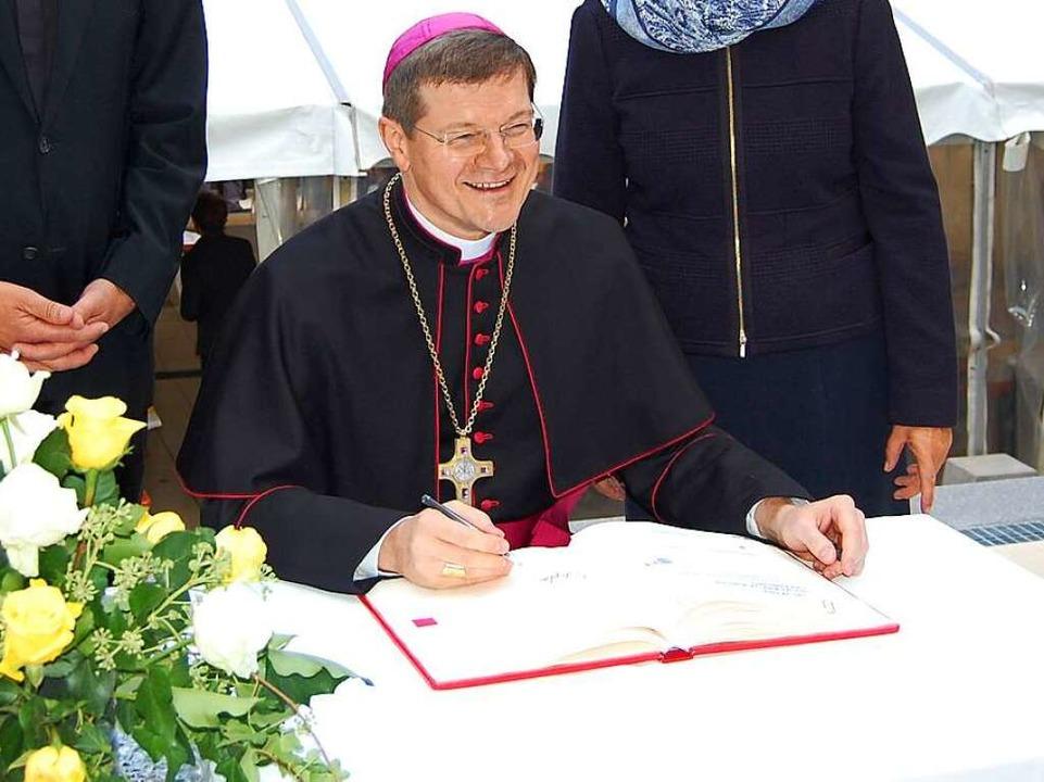 Bischof und Banker: Stefan Burger  | Foto: puppe