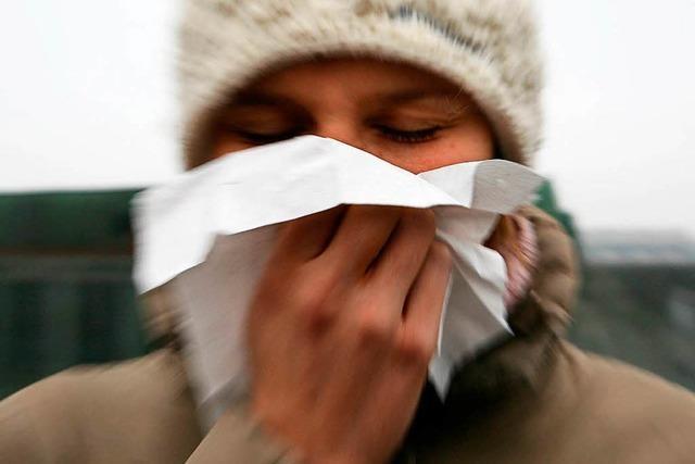 Warum kommt die Grippewelle immer im Winter?