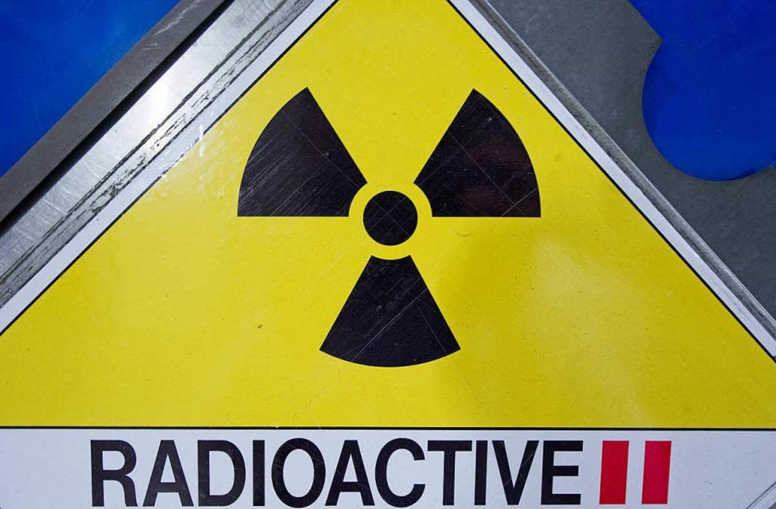 Radioaktivität.  | Foto: dpa