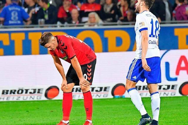 0:1-Niederlage im Heimspiel: Die SC-Spieler in der Einzelkritik