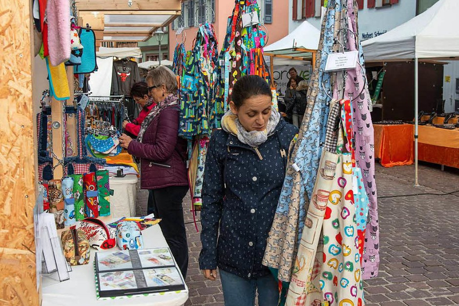 Impressionen vom Martinimarkt in der barocken Altstadt Ettenheims (Foto: Olaf Michel)