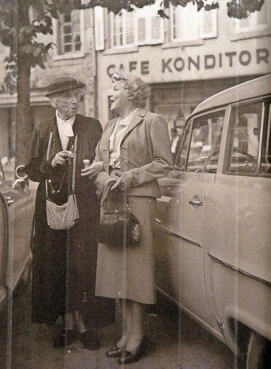 Ein Foto der Schriftstellerin Annette ...s) in den 1960er-Jahren in Badenweiler  | Foto: Dorothee Philipp