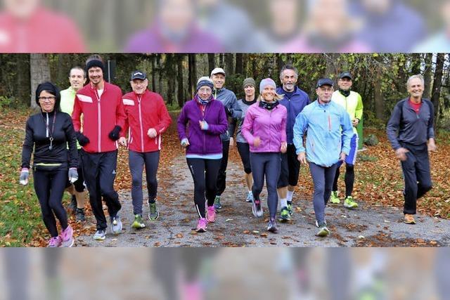 TuS-Lauftreff zeigt sportlichen Ehrgeiz