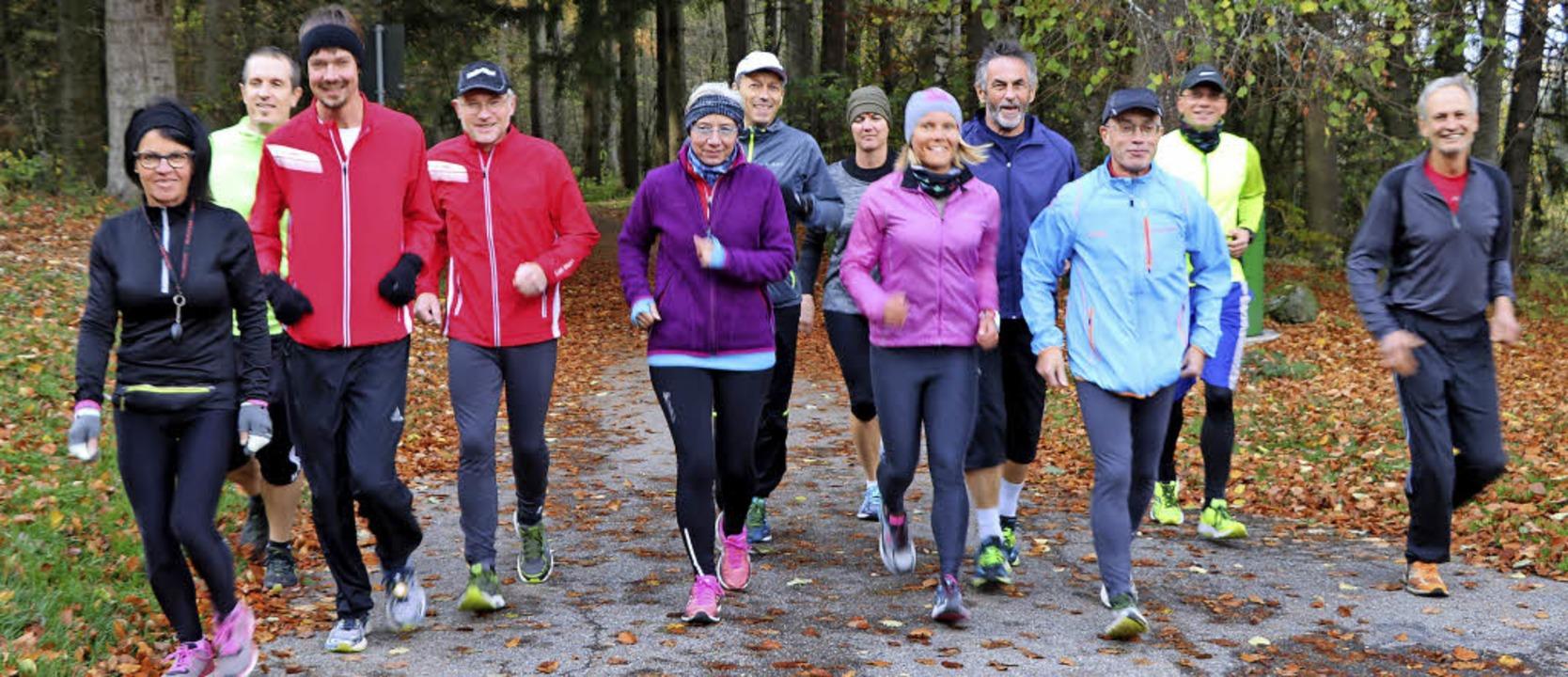 Ohne den Zwang zu Bestzeiten genießen ...chen Halbmarathon in geselliger Runde.  | Foto: Martha Weishaar