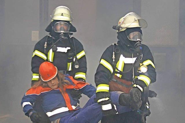Feuerwehrübung fand viel Beachtung