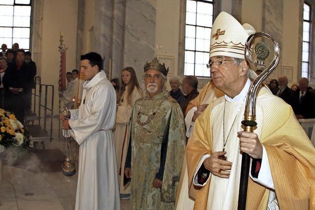 Feierliches Pontifikalamt in Schuttern
