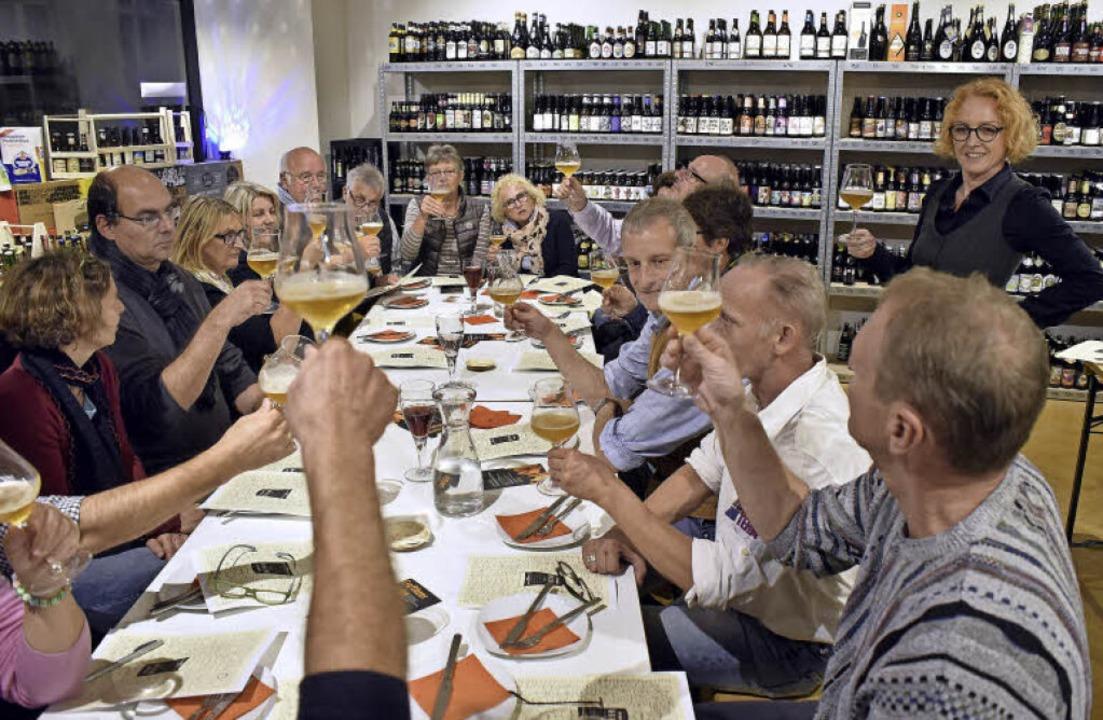Biertrinken mit Stil und Stiel: Fachfr...einen, individuellen Brauereien ein.    | Foto: Thomas Kunz