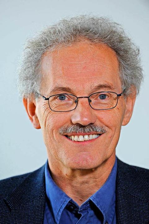 Rainer Grießhammer, Geschäftsführer des Öko-Instituts Freiburg  | Foto: Patrick Seeger