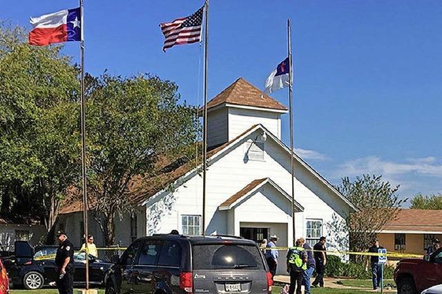 Mann richtet in US-Kirche Blutbad an