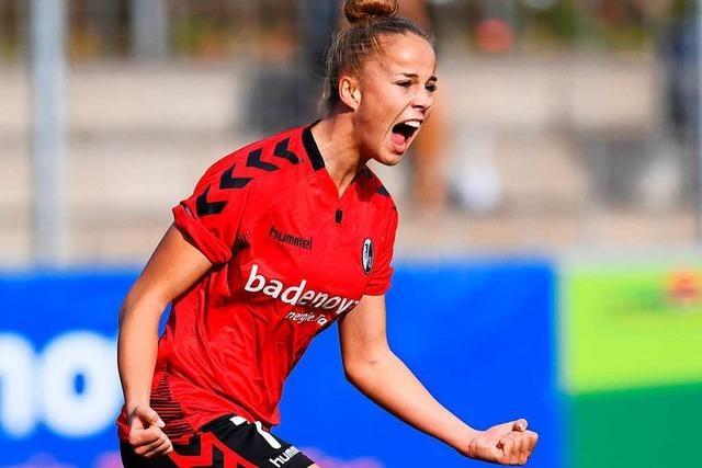 Die Frauen des SC Freiburg sind erstmals Spitzenreiter