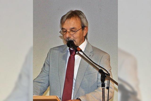 Bürgermeister Gerd Schweinlin tritt nicht mehr zur Wahl an