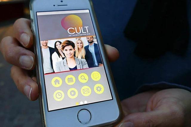 Lörracher Jobmesse Cult kann künftig mit einer App erkundet werden