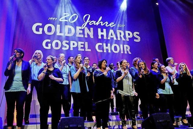 20 Jahre Golden Harps Choir Jubiläumsgala in der Lahrer Stadthalle