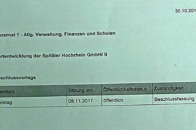 Ruth Cremer-Ricken kritisiert Spital-Vorlage