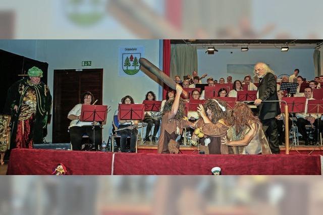 Großes Tohuwabohu in der Festhalle