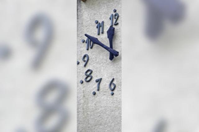 Die Turmuhr läuft wieder