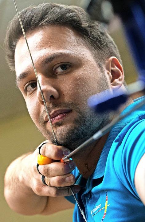 Adrian Faber konnte sein Leistungsverm... Teamkollegen nicht konstant abrufen.   | Foto: Achim Keller