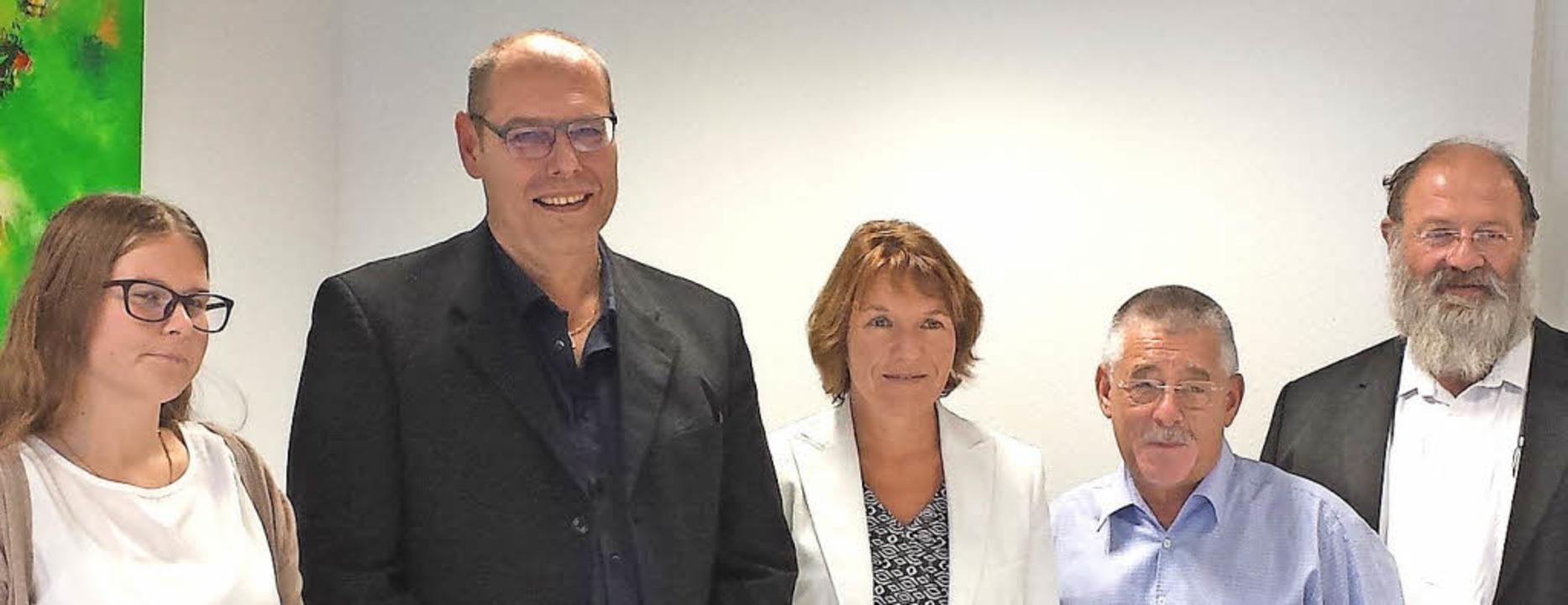 Die Organisatoren der Bad Krozinger Jo...D.) und Jürgen Pfundstein (Konrektor)     Foto: Fotos: Susanne Müller