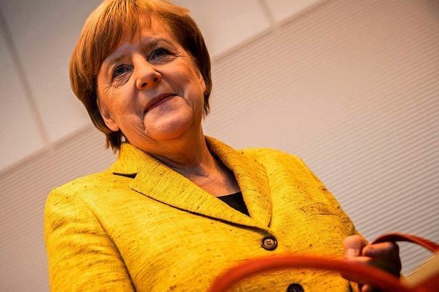 Merkel: Jamaika-Sondierung soll am 16. November abgeschlossen sein