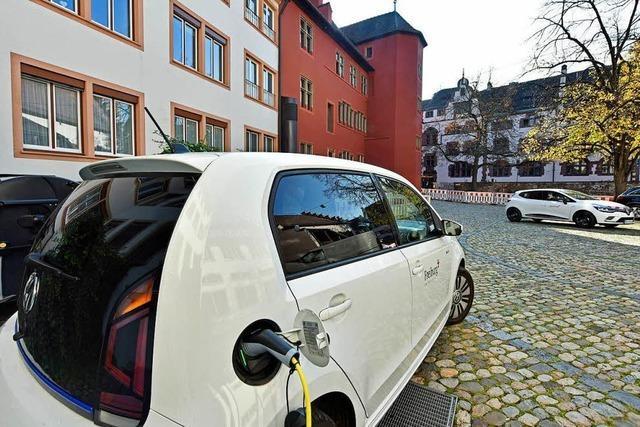 Freiburger Rathaus kauft Elektro-Flotte mit mehr als 50 Autos