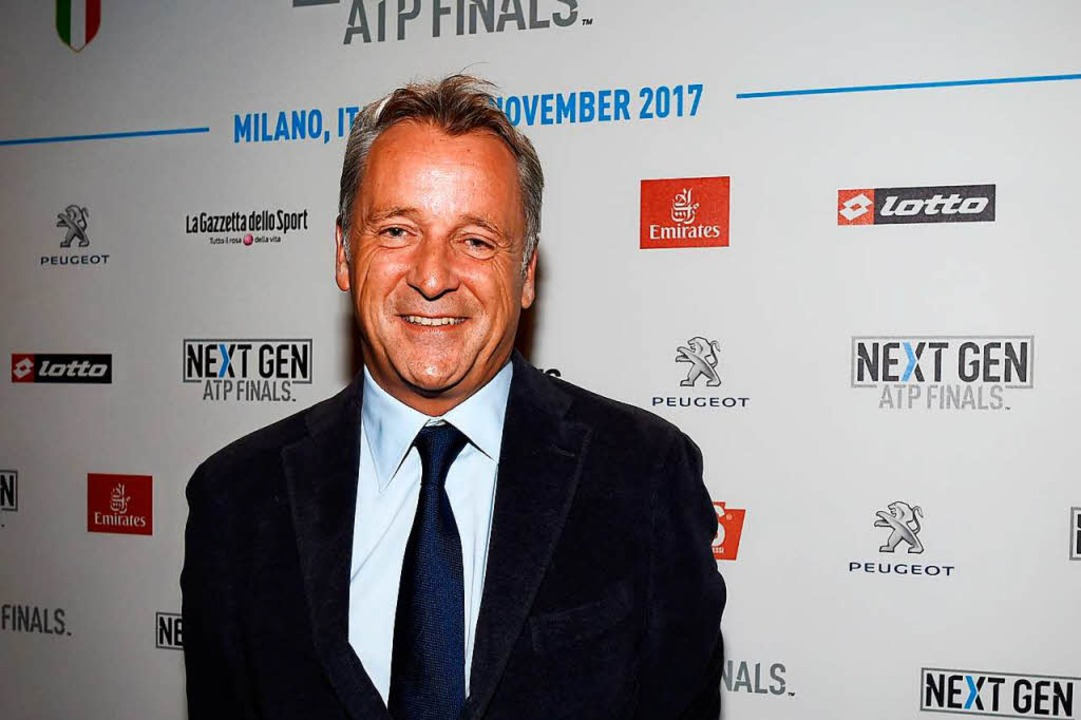 "ATP-World-Tour-Präsident Chris Kermode...#8222;NextGen""-Finals in Mailand  | Foto: AFP"