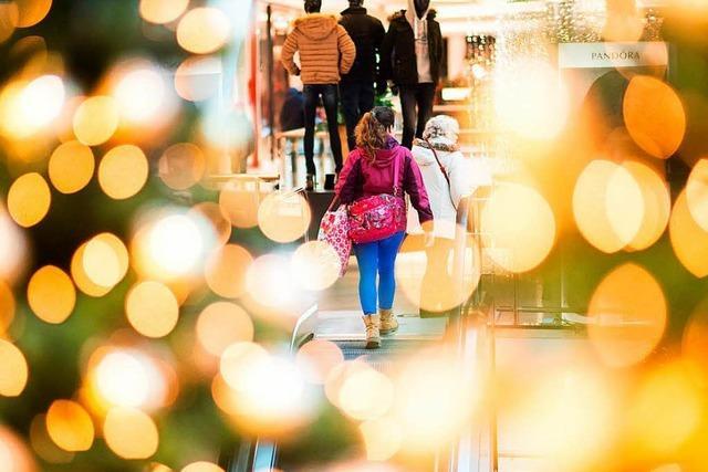 Keine Geschäfte an Heiligabend: Läden in Lahr bleiben zu