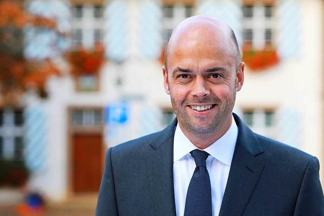 Der Lörracher Carsten Vogelpohl kandidiert in Bad Bellingen