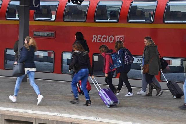 In Deutschland gemeldete Flüchtlinge dürfen den Badischen Bahnhof nicht nutzen