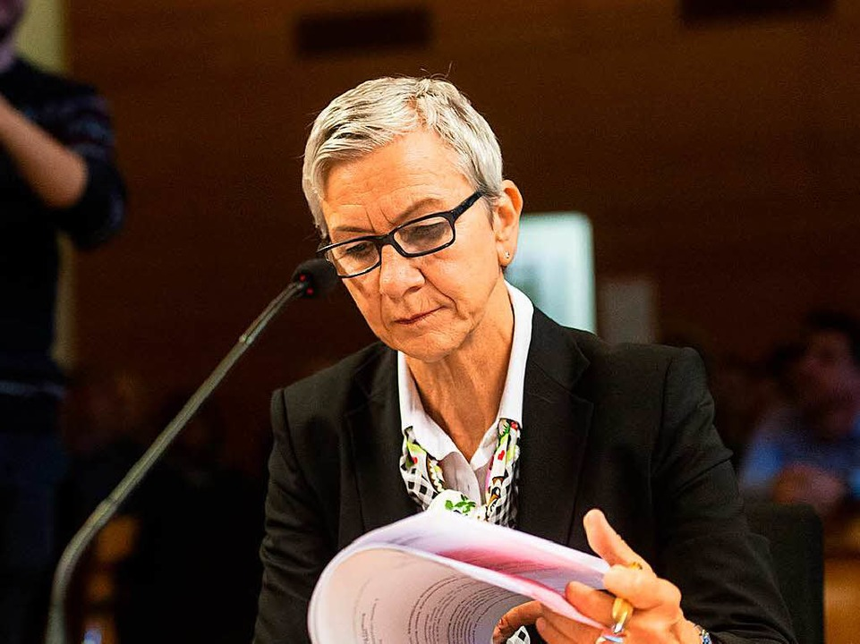 Ursula Wittwer-Backofen  | Foto: dpa