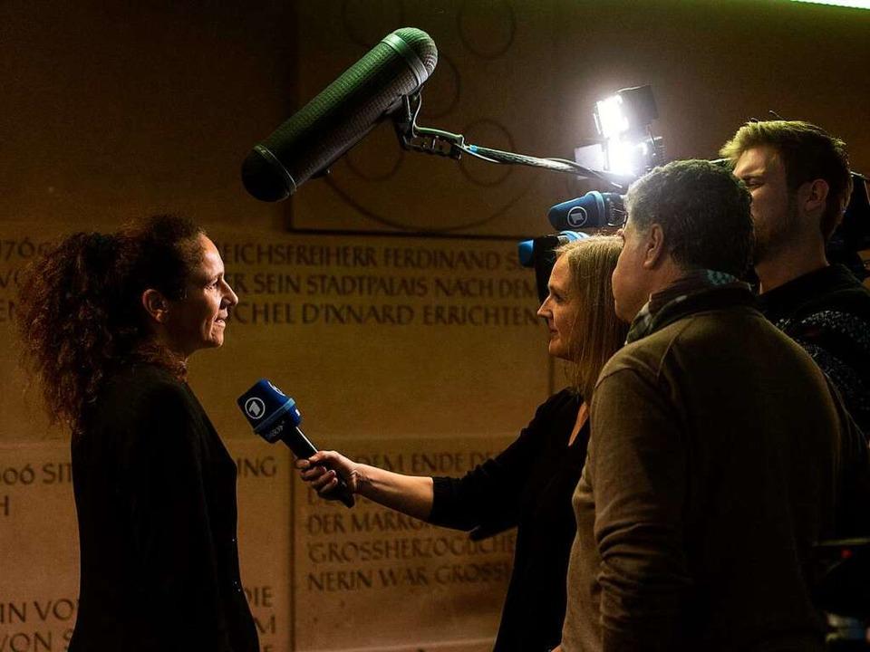 Sabine Lutz-Bonengel, rechtsmedizinisc...urg, war die erste Zeugin am Dienstag.  | Foto: dpa