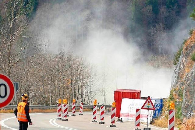 Sprengung am Feldberg wird verschoben