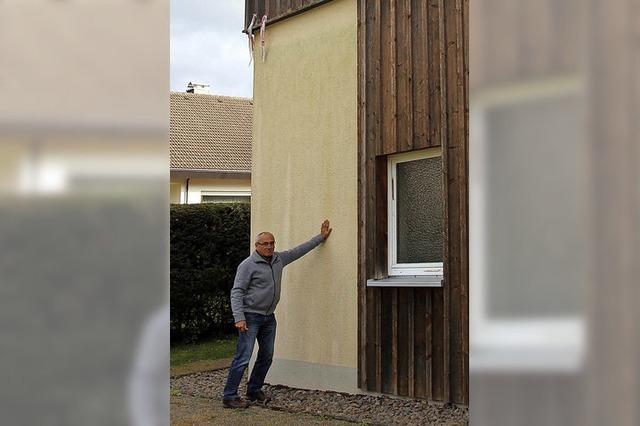 Frische Farbe für Fassade