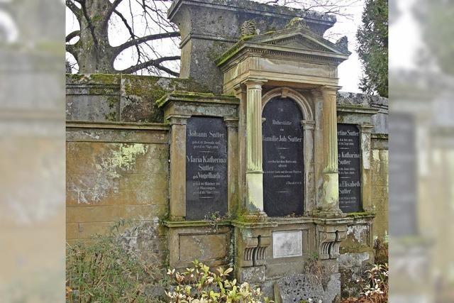 Führung über den Friedhof