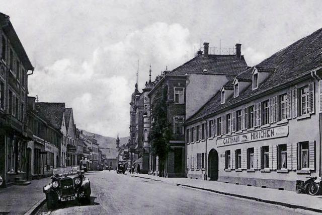 Wie Waldkirch einst aussah